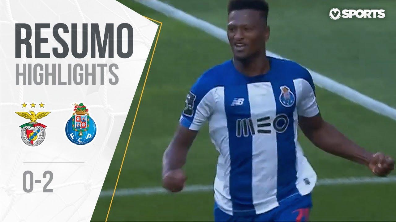 Highlights Resumo Benfica 0 2 Fc Porto Liga 19 20 3 Youtube