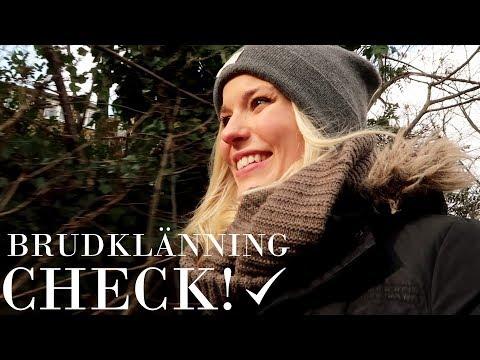 VLOGG: Brudklänning - check!