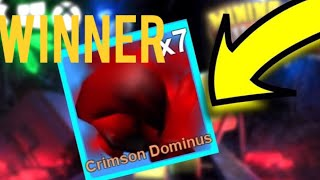 IL VINCITORE DI CREMISI DOMINUS!! IN DATA MINING SIMULATOR | ROBLOX