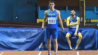 Легкая атлетика. Командный чемпионат Украины-2016. Прыжки в длину мужчины