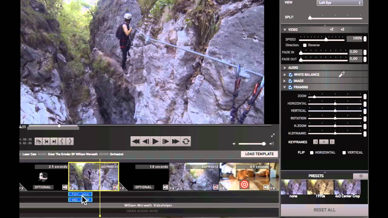Gopro studio 2 0 step 2 edit con i template tribe for How to use gopro studio templates