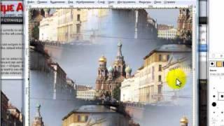 Бесшовные фоны для блога в программе Gimp