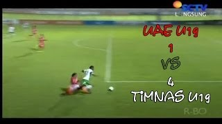 Timnas Indonesia U19 vs UEA U19 ( 4 - 1 ) All Goals and Full Highlight 14/04/2014