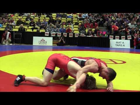 2015 CIS Championships: 65 kg Final Spenser Burk vs. Nick Rowe
