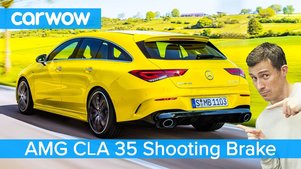 Best Wow Class 2020 New Mercedes AMG CLA Shooting Brake 2020   is it the best AMG all