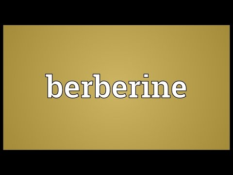 Header of berberine