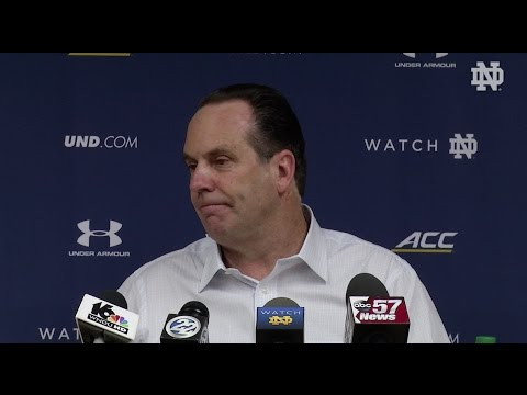 Mike Brey Post-Game Press Conference  - Virginia