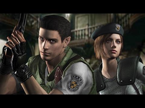 Resident Evil HD Remaster Прохождение Часть 1. Игра за Криса.