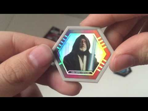 Star Wars Galactic Connexions Trading Discs Series 2 Opening!