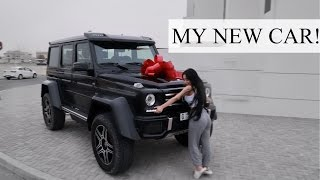 One of PINTSIZEDFASHTV's most viewed videos: MY NEW CAR || MERCEDES G500 4×4²!!