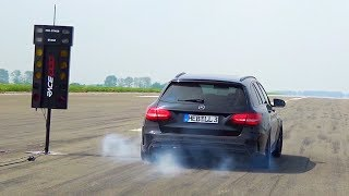 Mercedes C63 AMG SOUND BRUTAL LOUD 600HP W205