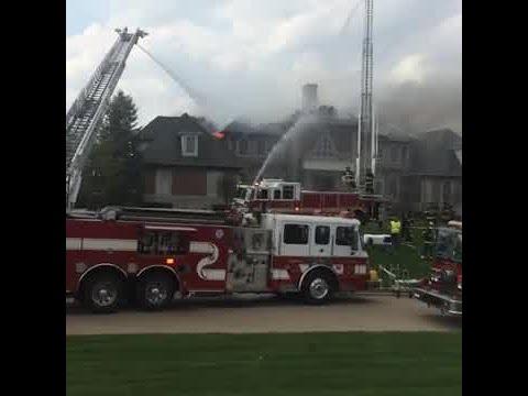 Facebook Live: Carmel house fire on Hintocks Circle