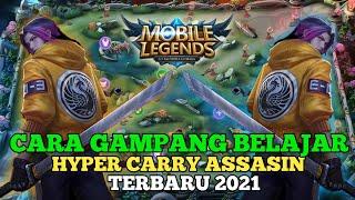 Tutorial Hyper Assassin|Mulai Dari Cara Rotasi,Masuk War Dan Ngelock Hyper Lawan - Mobile Legends