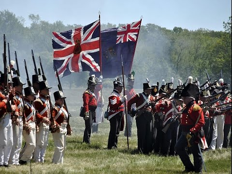 British battle victories over USA - War of 1812 (1/2)
