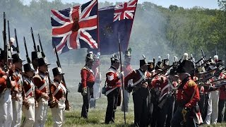 British battle victories over the USA - War of 1812 (1/2)
