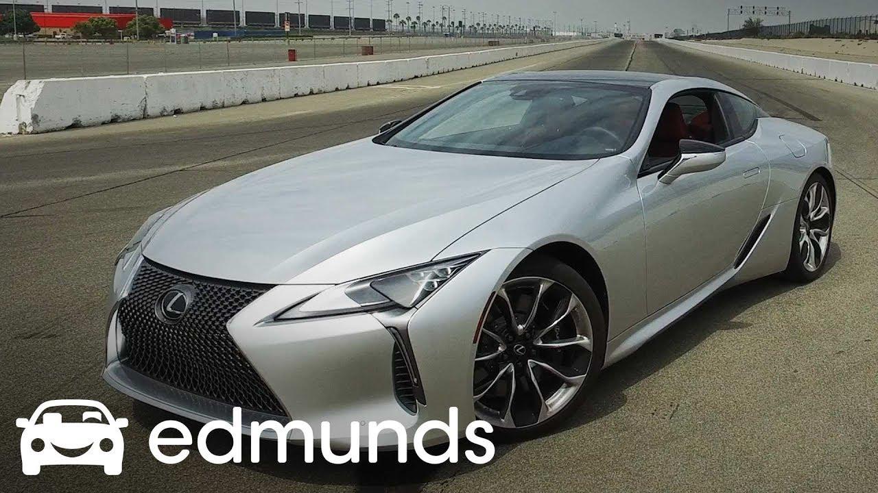 2018 Lexus Lc 500 Acceleration Test Edmunds Youtube