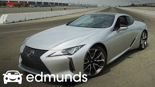 2018 Lexus LC 500 Acceleration Test | Edmunds