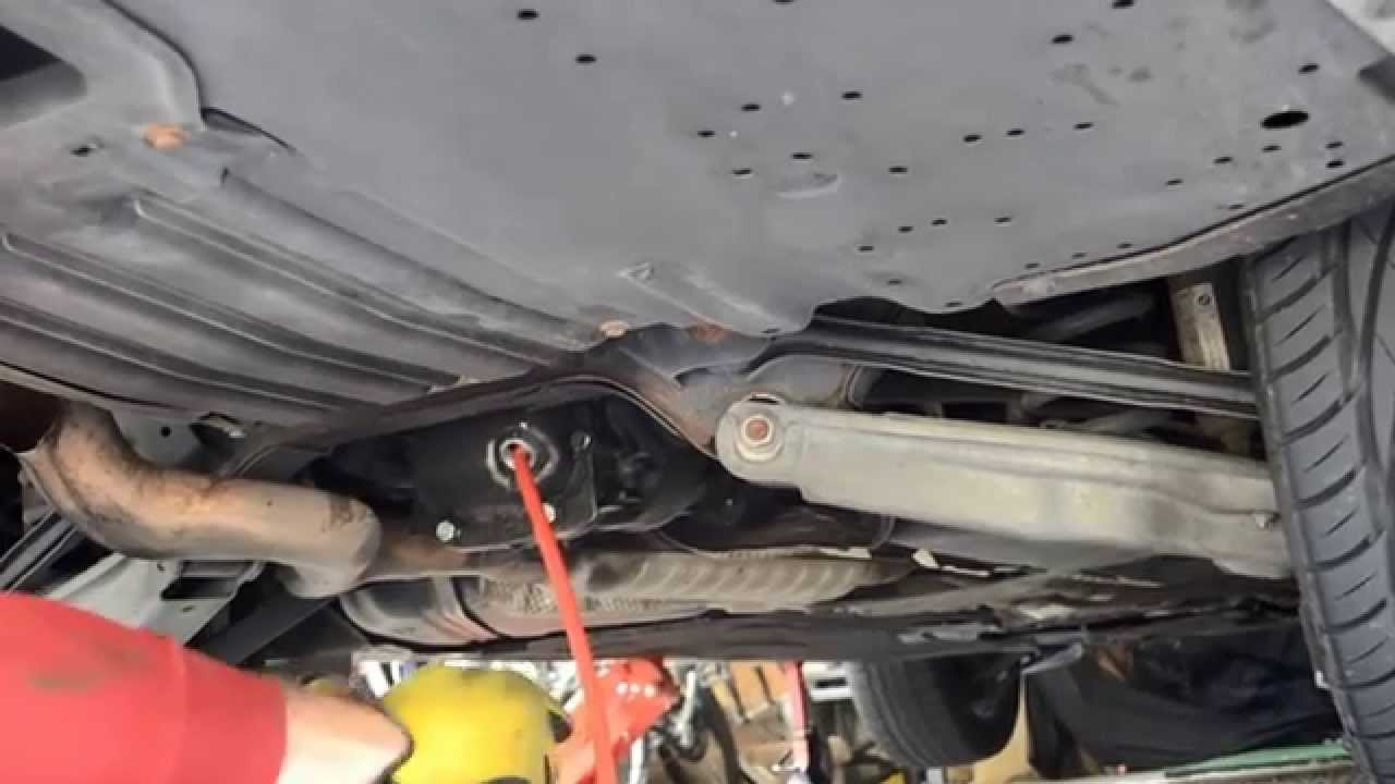 Bmw E90 Front And Rear Differential Fluid Change Diy Youtube