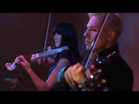 Electric Violinists FUSE Linzi Stoppard & Ben Lee Rock Glorious