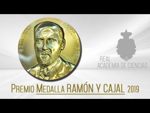 Discurso recepción Medalla Ramón y Cajal, 23 de octubre de 2019.La Real Academia de Ciencias, reunida en sesión plenaria extraordinaria el día 27 de marzo de 2019, cumplidos los requisitos exigidos en la normativa reguladora de la convocatoria 2019, acord