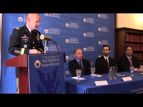 Lt. General Edward Cardon discusses cybersecurity