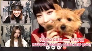 Download 201111 Video Call event with TWICE Nayeon, Momo and Sana