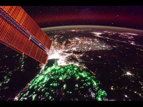 Thailand to the Pacific - City Lights From the Space Station