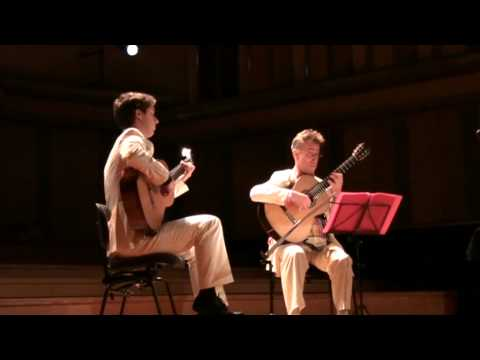 Eliot Fisk and Jerome Mouffe perform Valse op. 24 no. 2 by Frederic Chopin