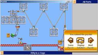 Prof. Tim Incredible Machines - Easy Levels