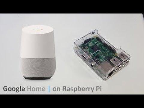 Créer un Google Home avec un Raspberry Pi - YouTube 088dee29b0e2