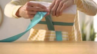 禮物包裝篇5 簡易蝴蝶結