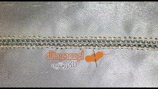 كيفية عمل الملاقية رائعة و سهلة للغاية randa crochet مع أم سعد عبد الله
