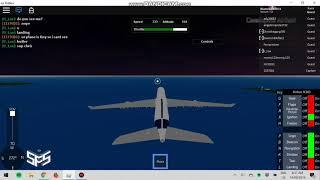 Roblox SFS flight simulator | Testing the A340