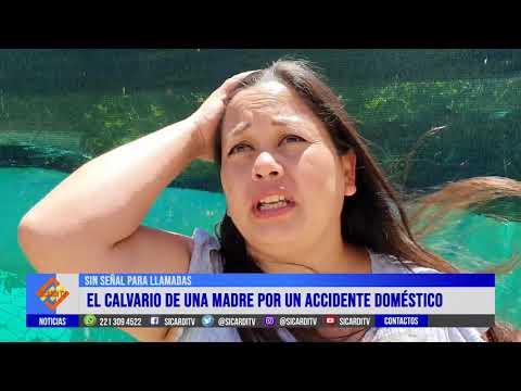 Sin señal: el calvario de una madre por un accidente doméstico