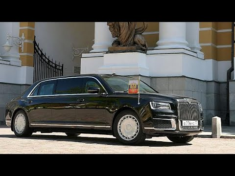 Putin Ditches Imported Cars In Favour Of Russian Made Limousine Youtube