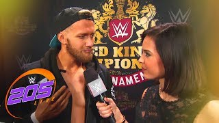 Mark Andrews hopes to elevate his career in the Cruiserweight Tournament: WWE 205 Live, Feb. 6, 2018