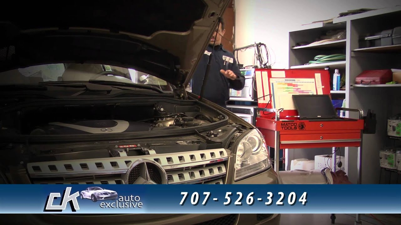 Ck auto exclusive santa rosa ca mercedes benz service for Mercedes benz repair santa rosa