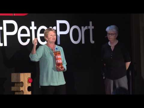 A proactive approach to mental health for all | Carol Vivyan & Michelle Ayres | TEDxStPeterPort