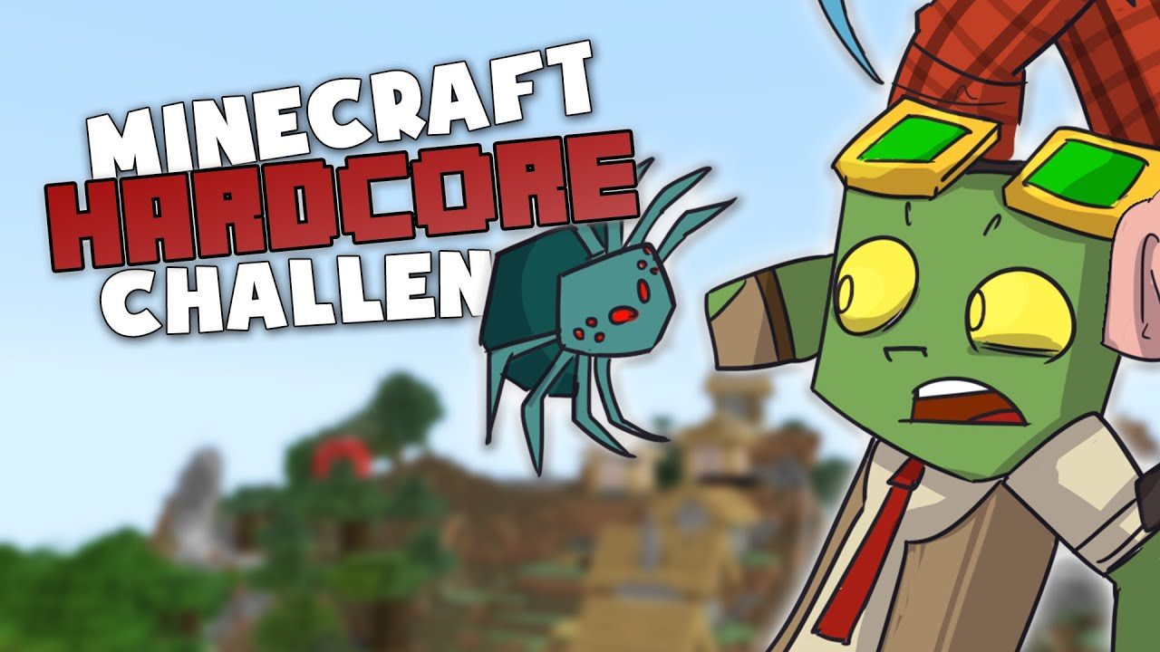 THIS IS HOW I DIE 😖- Minecraft Hardcore Challenge w. DadCraft73 and ThePigglesworth! #2