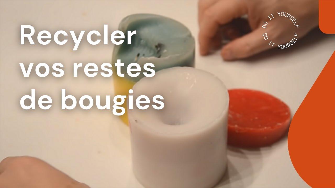 Voici comment recycler vos anciennes bougies youtube - Comment fabriquer des bougies parfumees ...