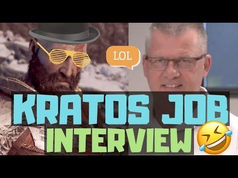kratos job interview 😂 god of war funny memorable lines