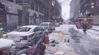 TEAM CHALLENGES - (SECURITY WING ONLY AND 3 SNIPER 1 DPS GROUP) The Division Update 1.8.3