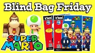 BLIND BAG FRIDAY Ep.4 - Super Mario Series 4 Figures K-nex