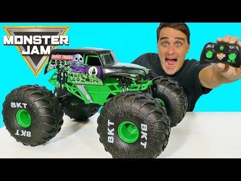 Mega RC Grave Digger ! || Toy Review || Konas2002