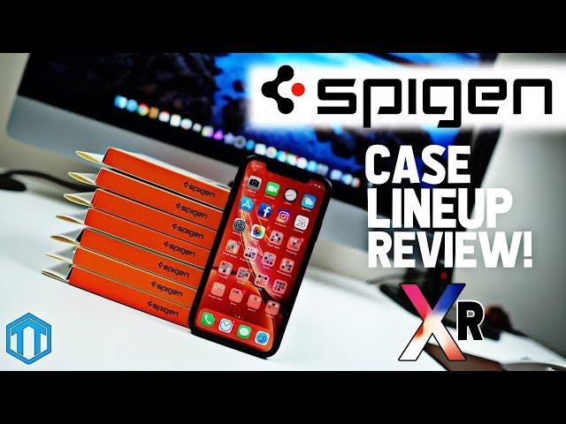 iPhone XR Spigen Case Lineup Review!