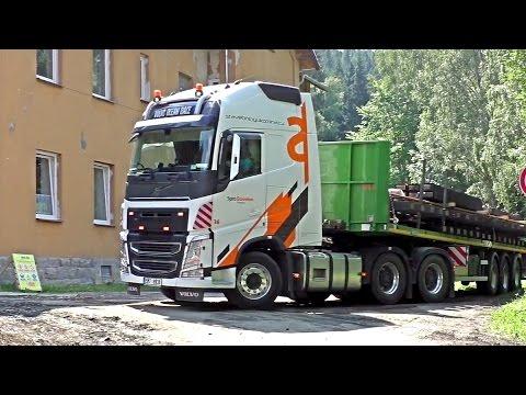 Volvo Vnl 2018 >> Volvo FH 540 6x4 Ocean race on construction site - YouTube