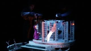 Отрывок спектакля «Медведь» (пензенский Кукольный дом)