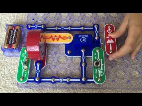 Snap Circuit Project #15 Musical Doorbell