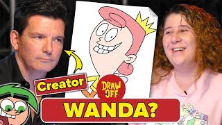 Animator Vs. Cartoonist Draw NickToons From Memory (ft. Butch Hartman) • Draw Off