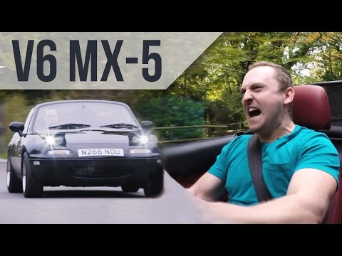 You Can Buy a Swap Kit to Put a Jaguar V-6 in Your Mazda